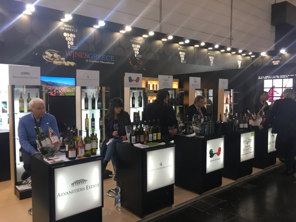 Prowein 2018 Επιβλητική η Συμμετοχή της  GREAT GREEK EXPORTS AND TRADE